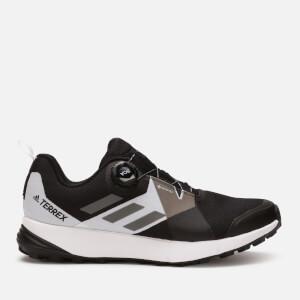adidas Men's Terrex Two Boa Gore-Tex Hiking Shoes - Black