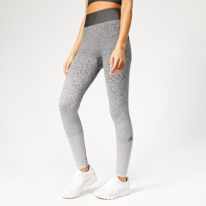 adidas Women's Believe This Primeknit FLW Tights - Black/White
