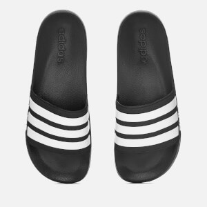 adidas Men's Adilette Shower Slide Sandals - Black