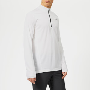 adidas Men's Terrex Tracero 1/2 Zip Long Sleeve Top - White