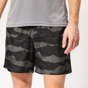 adidas Men's Run It Camo 5 Inch Shorts - Camo Print