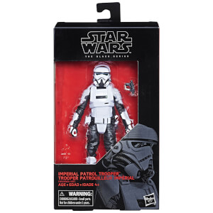 Figurine de 15 cm – Star Wars The Black Series – Patrouilleur Trooper Impérial