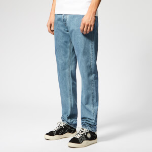 Helmut Lang Men's Masculine High Straight Jeans - Indigo