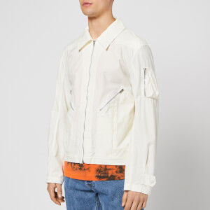 Helmut Lang Men's Aviator Jacket - Off White