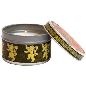 Game of Thrones Scented Tin Candle (Large) - Lannister