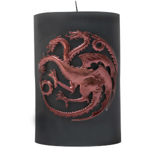 Game of Thrones Sculpted Insignia Candle - Targaryen