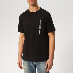 Diesel Men's Just Pocket T-Shirt - Black