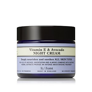 Neal's Yard Remedies Vitamin E and Avocado Night Cream 50 g