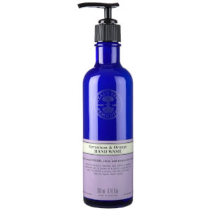 Gel Lavant pour les Mains à l'Orange et au Géranium Neal's Yard Remedies 200 ml