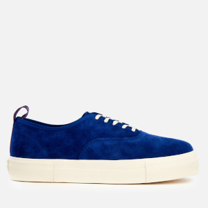 Eytys Mother Suede Low Top Trainers - Cobalt