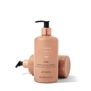 Grow Gorgeous Curl Defining Cleansing Conditioner 400ml: Image 5