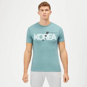 한정판 코리아 티셔츠 - 에어포스 블루