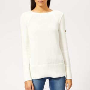 Barbour International Women's Camier Knit Jumper - Off White