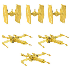 Star Wars kerstversiering - X-Wing & TIE Fighter