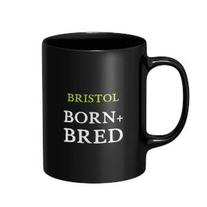 Bristol Born and Bred Mug - Black
