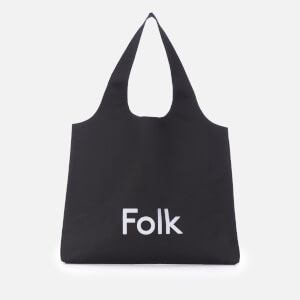 Folk Men's Tote Bag - Black
