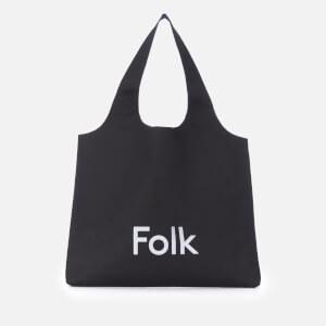 Folk Men's Tote Bag - Black