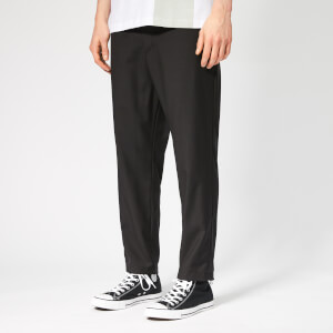 OAMC Men's Cropped Zip Pants - Black