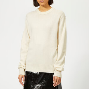 Helmut Lang Women's Ring Cashmere Crew Neck Jumper - Light Butter