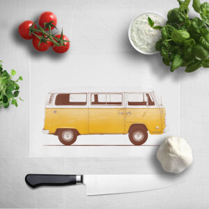 Yellow Van Chopping Board