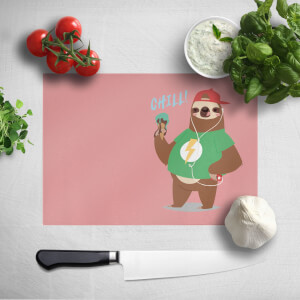 Sloth Chill Chopping Board