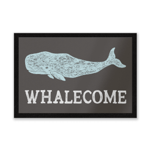 Whalecome Entrance Mat