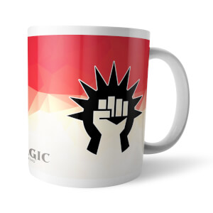 Magic The Gathering GOR Fractal Boros Mug