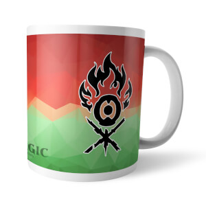 Magic The Gathering GOR Fractal Gruul Mug