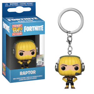 Fortnite Raptor Pop! Keychain