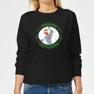 Star Wars Merry Hothmas Women's Christmas Sweater - Black