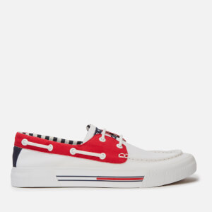 Tommy Jeans Men's Hybrid City Boat Shoes - Red/White/Black