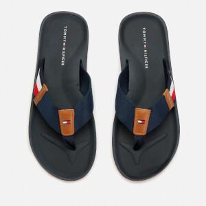ef54988b9 Tommy Hilfiger Men s Corporate Stripe Beach Sandals - Midnight Mens ...