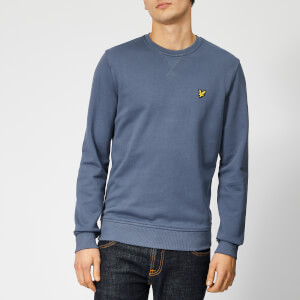 Lyle & Scott Men's Crew Neck Sweatshirt - Indigo Blue