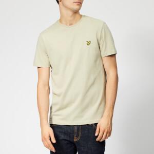 Lyle & Scott Men's Plain T-Shirt - Green Stone