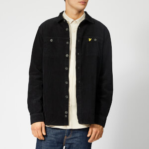 Lyle & Scott Men's Cord Overshirt - True Black