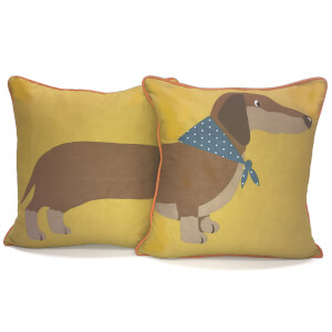 Rapport 2-Sided Long Sausage Dog Cushion (One Cushion)