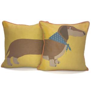 Rapport 2-Sided Long Sausage Dog Cushion (One Cushion)