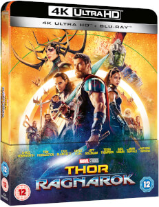Thor Ragnarok 4K Ultra HD - Zavvi Exclusive Lenticular Edition SteelBook (Includes 2D Blu-ray)