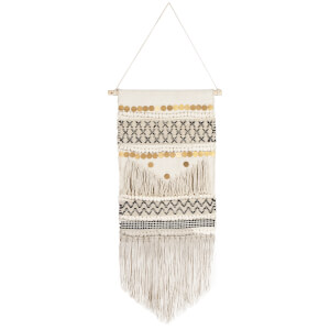 Sass & Belle Scandi Boho Wall Hanging Decoration