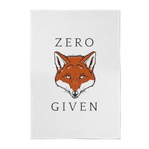 Zero Fox Given Cotton Tea Towel