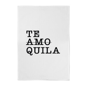 Te Amo/Quila Cotton Tea Towel