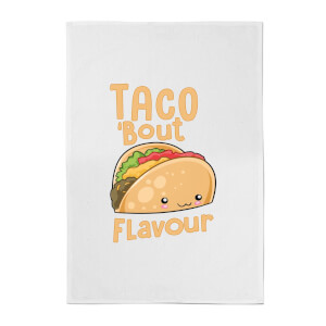 Taco 'Bout Flavour Cotton Tea Towel
