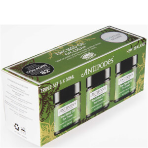 Antipodes Exclusive Triple Pack - Kiwi Seed Oil Eye Cream (3 x 30ml)