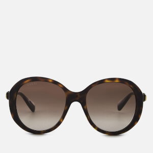 Gucci Women's Oversized Round Frame Sunglasses - Brown