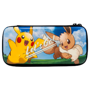 Nintendo Switch Hard Pouch - Pokémon: Let's Go, Pikachu and Eevee