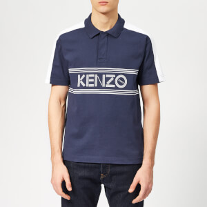 KENZO Men's Chest Logo Polo Shirt - Ink