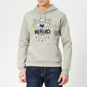 KENZO Men's Icon Overhead Hoodie - Grey