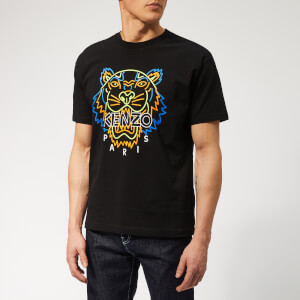 797496a0a7a7 KENZO Men s Icon Neon T-Shirt - Black