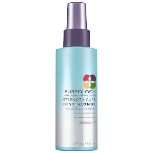 Pureology Strength Cure Best Blonde Miracle Filler trattamento rinforzante per capelli biondi (145 ml)