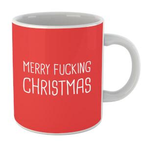 Merry F*****g Christmas Mug